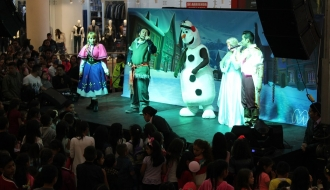 fiestas infantiles bogota - show frozen 3