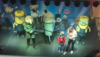 fiestas infantiles bogota - show minions 3