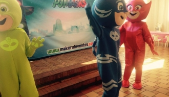 show pjamasks 2 - makerule eventos