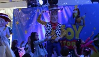 fiestas infantiles bogota - show toy story 1