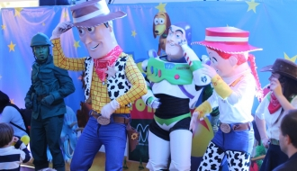 fiestas infantiles bogota - show toy story 2