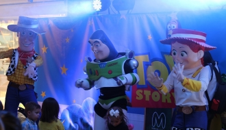 fiestas infantiles bogota - show toy story 3