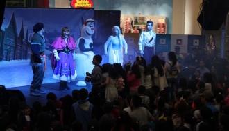 fiestas infantiles bogota - show frozen 2