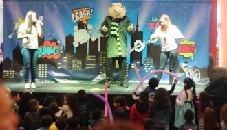 fiestas infantiles bogota - show minions 1