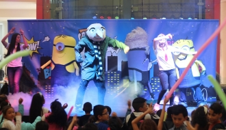 fiestas infantiles bogota - show minions 2