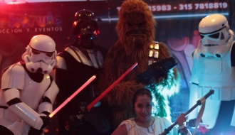 fiestas infantiles bogota - show star wars - makerule eventos 7035983
